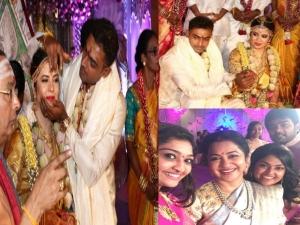 Raadhika Sarathkumar Daughter Rayane Marries Cricketer Abhimanyu