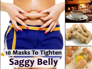 Ten Masks Tighten Saggy Belly
