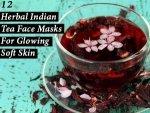 Twelve Herbal Indian Tea Face Masks For Glowing Soft Skin