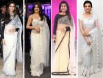 Actresses Wearing White Sarees Catch Hottest White Saree Looks