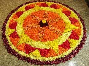 10 Flowers Used For Onam Pookkalam Or Floral Rangoli
