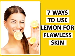 Seven Ways To Use Lemon For Flawless Skin