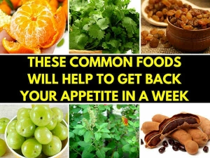 Suffering From Appetite Loss These Common Foods Will Help To Get Back