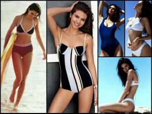 Kendall Jenner Swimsuits Take A Look At Her 9 Swimsuit Styles