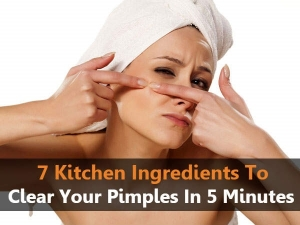 Seven Kitchen Ingredients To Clear Your Pimples In Five Minutes