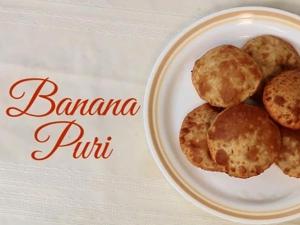 Tasty Sweet Banana Puri Recipe