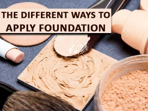 The Different Ways Apply Foundation