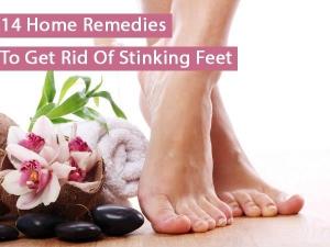 Fifteen Homemade Remedies For Stinking Feet