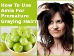 How To Use Amla For Premature Graying Hair