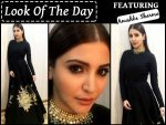 Look Of The Day Anushka Sharma In Sabyasachi