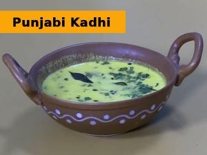 Punjabi Kadhi Recipe For Karwa Chauth