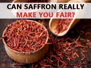 Can Saffron Really Make You Fair