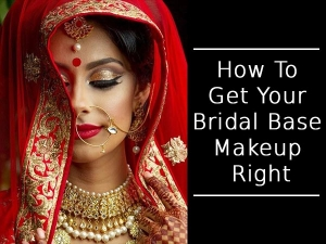 How To Get Your Bridal Base Makeup Right