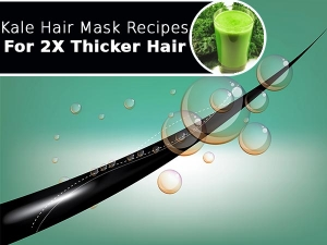 Kale Hair Mask Recipes For Two Times Thicker Hair