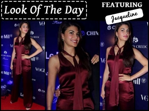 Look Of The Day Jacqueline Fernandez In Prabal Gurung