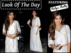 Look Of The Day Shilpa Shetty In Payal Singhal