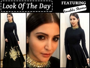 Look Of The Day Anushka Sharma In Sabyasachi