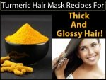 Turmeric Hair Mask Recipes For Thick And Glossy Hair