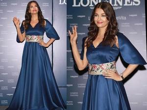 Aishwarya Rai At Launch Of Longines Store Noida