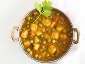 Quick Aloo Matar Recipe Video
