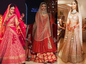 Bridal Lehengas 2016 Trends Pick Your Bridal Lehenga Colour