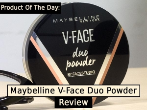 Product Of The Day Maybelline V Face Duo Powder Review