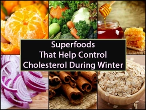 Superfoods Control Cholesterol Cinnamon Honey Fruits Winter