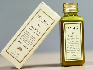 Product Of The Day Kama Ayurveda Muscle Tone Firming Oil Review