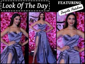 Look Of The Day Deepika Padukone Wearing Ralph Russo