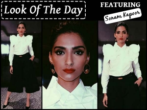 Look Of The Day Sonam Kapoor Campaigning For Hillary Clinton