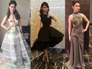Tamannaah Bhatia Hot Red Carpet Dresses