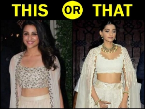 Parineeti Chopra Sonam Kapoor Separates