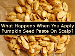 What Happens When You Apply Pumpkin Seed Paste On Scalp