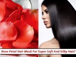 Rose Petal Hair Mask For Super Soft And Silky Hair