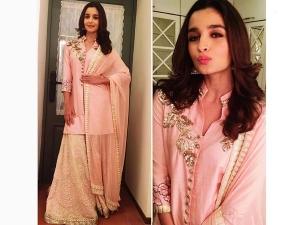 Alia Bhatt Ready For The Wedding Season