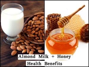 Top Six Health Benefits Almond Milk With Honey