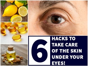 Six Hacks To Take Care Of The Skin Under Your Eyes