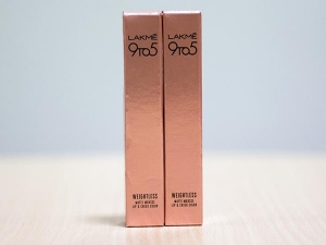 Product Of The Day Lakme 9 5 Weightless Matte Mousse Lip Cheek Colour Review