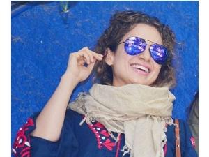 Kangana Ranaut Spotted In Bandra Wearing Zara Dress