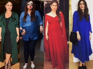 Kareena Kapoor Delivers Baby Boy Look At Her Maternity Fashion