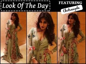Look Of The Day Chitrangda Singh Wearing Varun Bahl