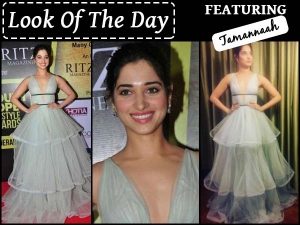 Look Of The Day Tamannaah Bhatia In Gauri And Nainika