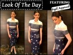 Look Of The Day Kajal Aggarwal Look Chic As Hell
