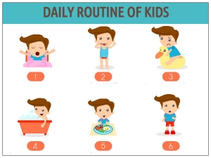 Daily Routine Of Kids
