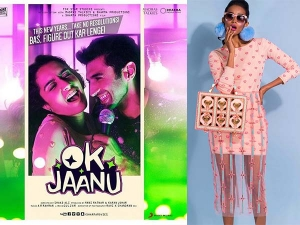 Shraddha Kapoor Wearing Papa Dont Preach Dress In Ok Jaanu Poster