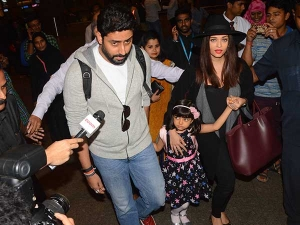Asihwarya Rai Spotted At The Airport Take A Look