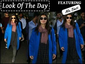 Look Of The Day Alia Bhatt Airport Lookbook