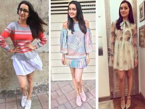 Shraddha Kapoor Lookbooks For Ok Jaanu Promotions
