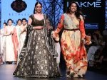 Aditi Rao Hydari Walks For Kotwara Lakme Fashion Week Summer Resort