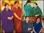 Sasikala Copying Jayalalithaa Saree Fashion During Her Reign
